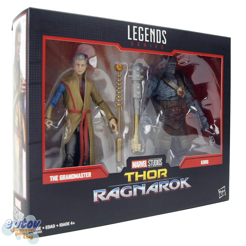 Marvel Legends Series 80 Years 6-inch Thor Ragnarok The Grandmaster & Korg