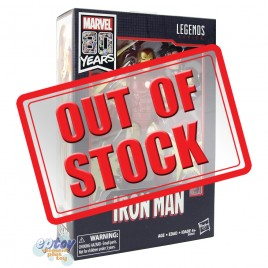 Marvel Legends Series 80 Years 6-inch Iron Man