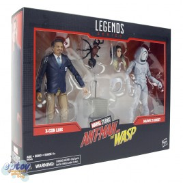 Marvel Legends Series 80 Years 6-inch Ant-Man and The Wasp X-Con Luis & Marvel's Ghost