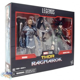 Marvel Legends Series 80 Years 6-inch Thor Ragnarok Skurge & Marvel's Hela