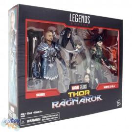Marvel Legends Series 80 Years 6-inch Thor Ragnarok Skurge & Marvel's Hela