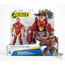 Marvel Avengers 6-inch Deluxe Iron Man With Armor