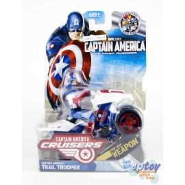 Marvel Captain America The First Avenger Cruisers Trail Trooper
