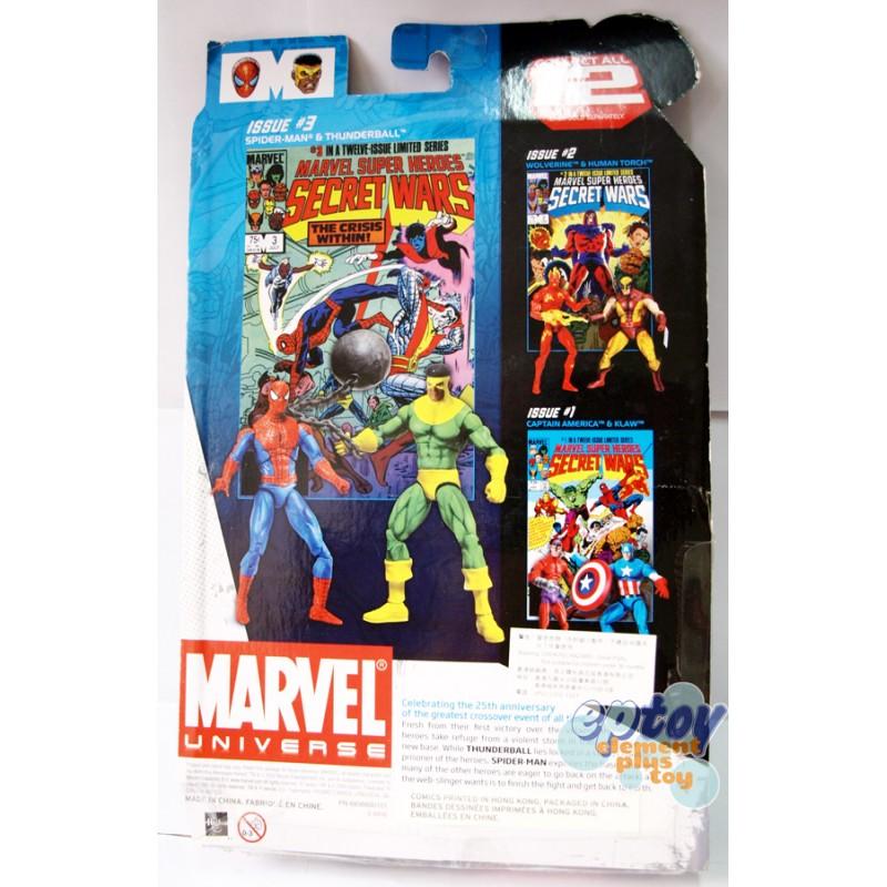 Marvel Universe Comic Packs 3.75-inch Spiose-Man & Thunderball