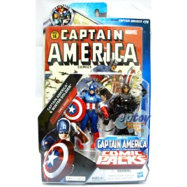 Marvel Comic Packs 3.75-inch Captain America & Winter Soldier