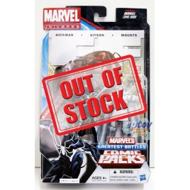 Marvel Universe Comic Packs 3.75-inch Black Costume Spider-Man & DR. Doom