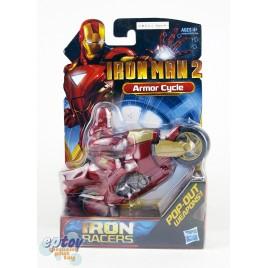 Marvel Iron Man 2 Iron Racers Armor Cycle