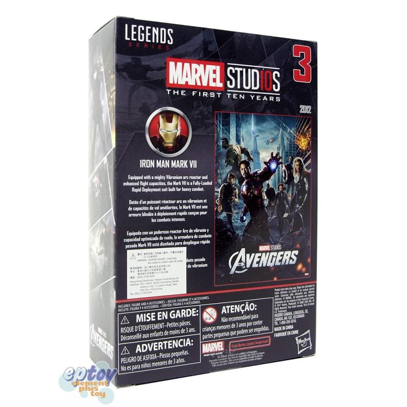 Marvel Studios The First Ten Years 6-inch Avengers Iron Man Mark VII