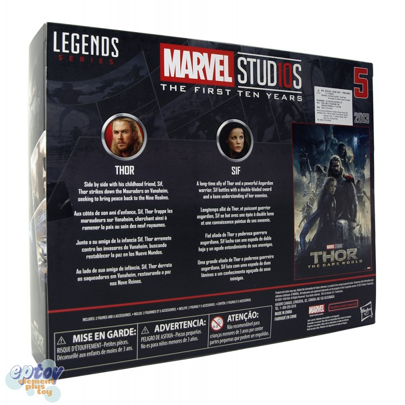 Marvel Studios The First Ten Years 6-inch Red Skull Thor Ant-Man Set