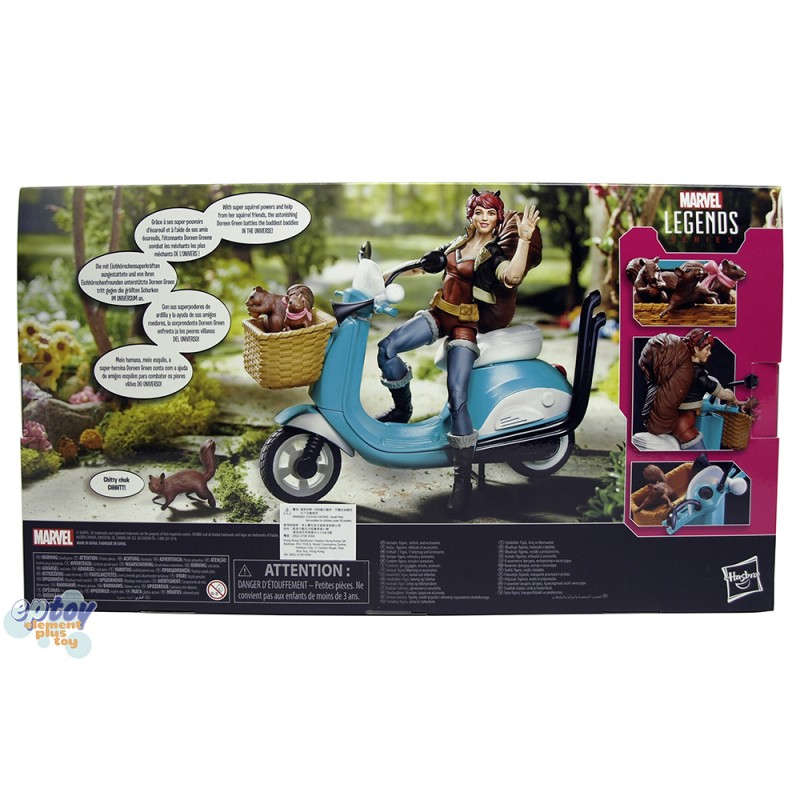 Marvel Legends Vehicle Series 6-inch The Unbeatable Squirrel Girl