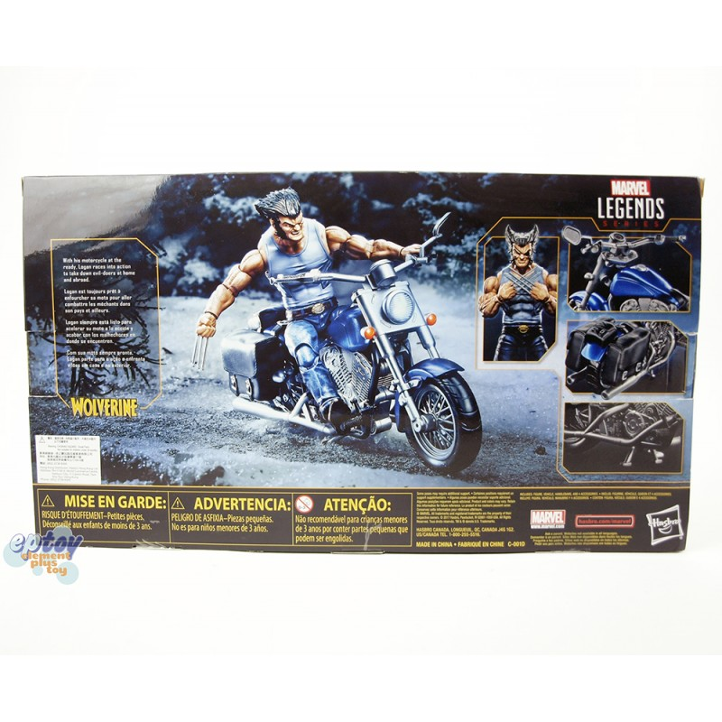 Marvel Avengers Legends Series Ultimate 6-inch Wolverine With Motorcycle