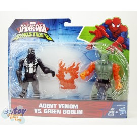 Marvel Ultimate Spider-Man Sinister 6 Agent Venom VS Green Goblin