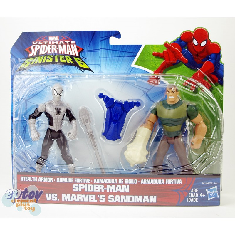 Marvel Ultimate Spider-Man Sinister 6 Spide Man VS Marvel's Sandman