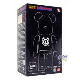 Bearbrick 200% Medicom Bandai Chogokin Black Ver.