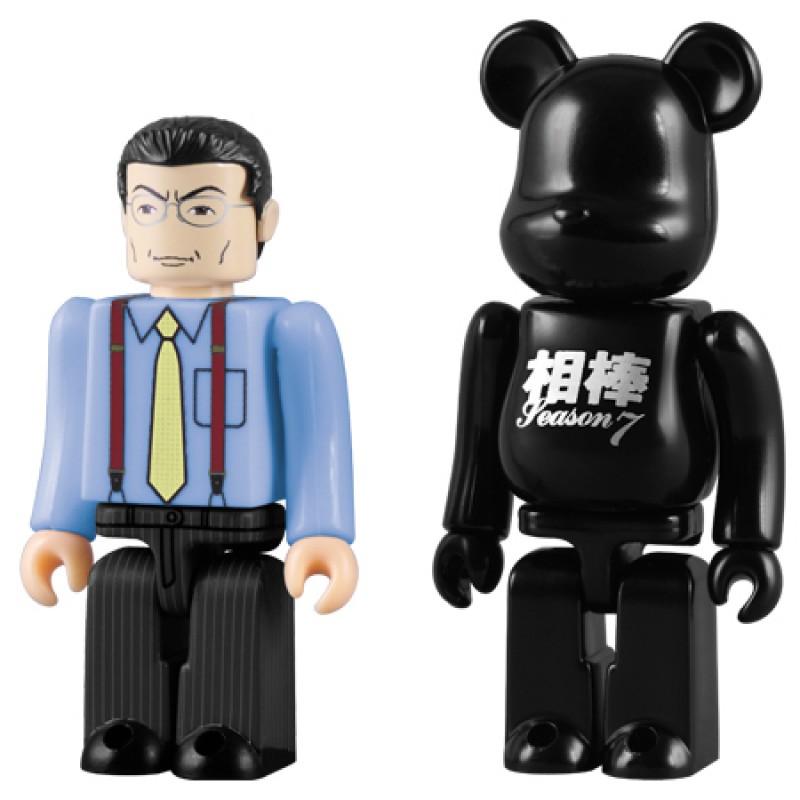 Kubrick & Bearbrick 100% Aibo Partners Season 7 Ukyo Sugishita Set