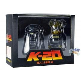 Kubrick & Bearbrick 100% K-20 Legend of the Mask Set