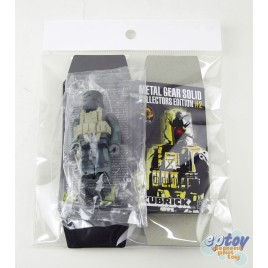 Kubrick 100% Metal Gear Solid Collectors Edition #2 Old Snake Octocamo Face Mask