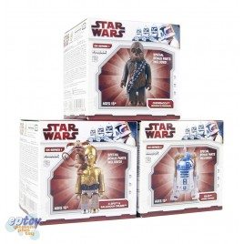 Kubrick 100% Star Wars DX Series 1 C-3PO R2-D2 Chewbacca + Jabba The Hutt Parts