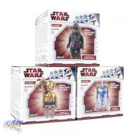 Kubrick 100% Star Wars DX Series 1 C-3PO R2-D2 Chewbacca + Jabba The Hutt Parts