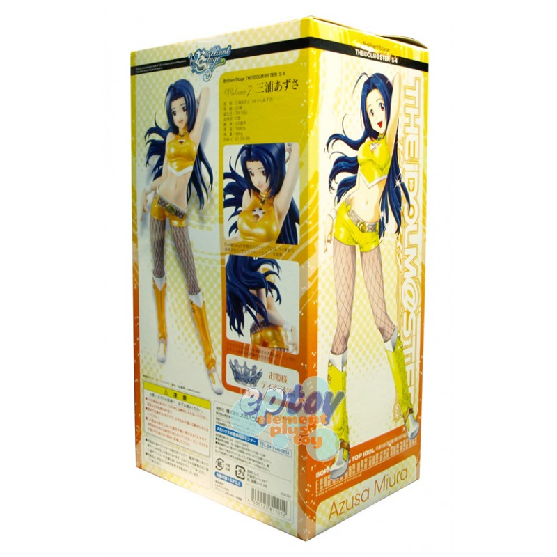 Wave Beach Queens The iDOLM@STER Idolmaster Miura Azusa age 20 Painted Figure