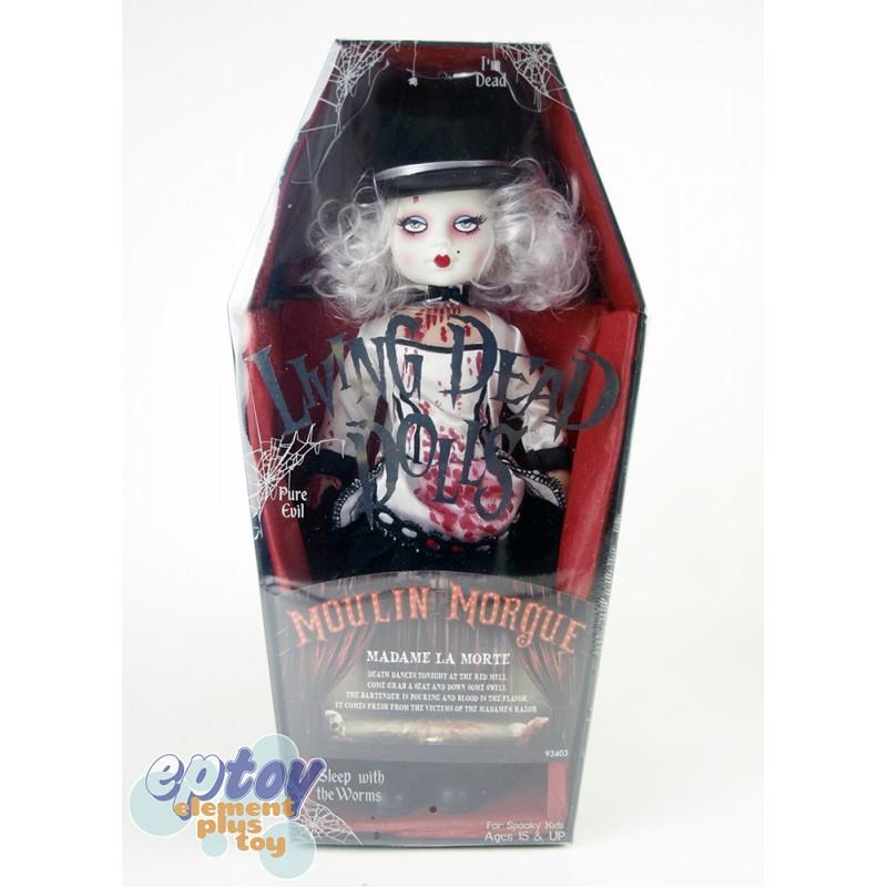 NUOVO Toys Serie 33 Moulin obitorio Living Dead Dolls Nuovo in Scatola MADAME LA MORT