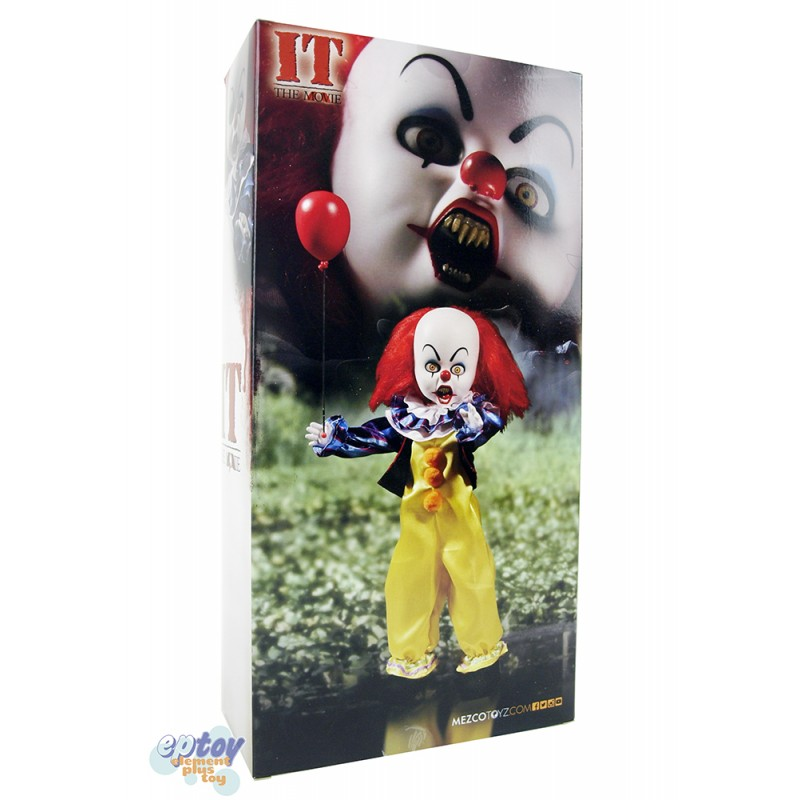 Mezcotoyz Living Dead Dolls Presents Stephen King IT 1990 Pennywise