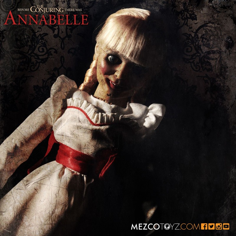 Mezcotoyz The Conjuring 18-inch Annabelle Doll