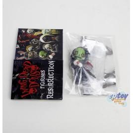 Mezcotoyz Living Dead Dolls 2-inch Figurines Resurrection Series1 Pumpkin Variant Version
