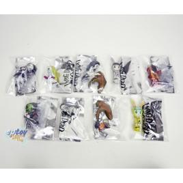 Mezcotoyz Living Dead Dolls 2-inch Figurines Resurrection Series1 Set of 9
