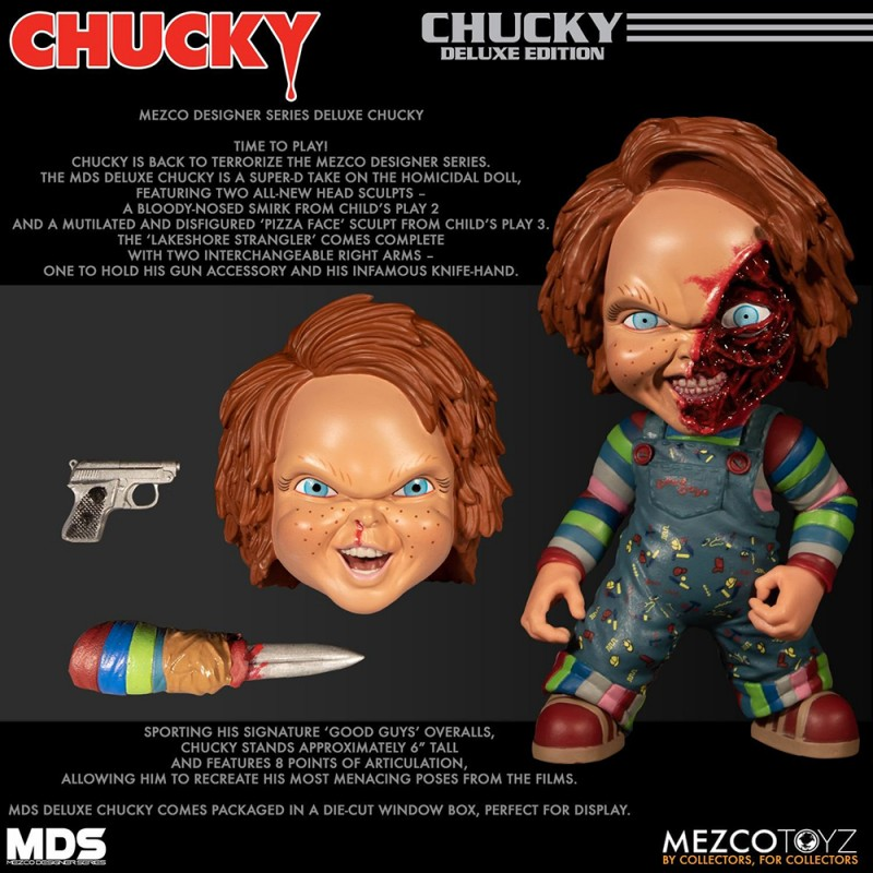 Mezcotoyz Designer Series 6-inch MDS Deluxe Chucky