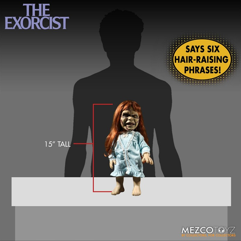 Mezcotoyz MDS Mega Scale The Exorcist with Sound Feature