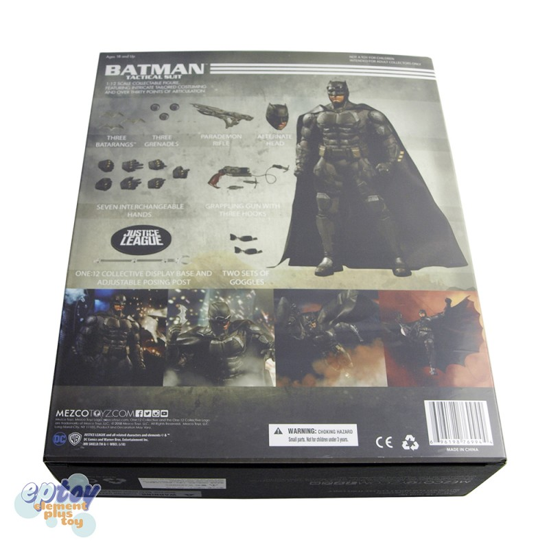 Mezcotoyz One:12 Collective DC Comics Justice League Batman Tactical Suit