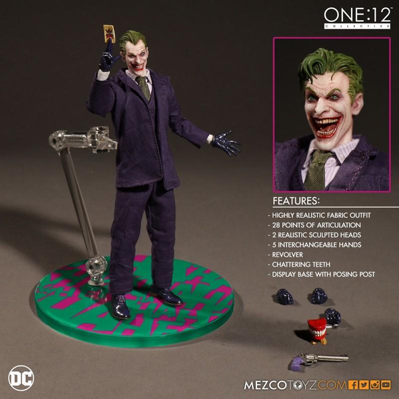 Mezcotoyz One:12 Collective DC Comics Batman The Joker
