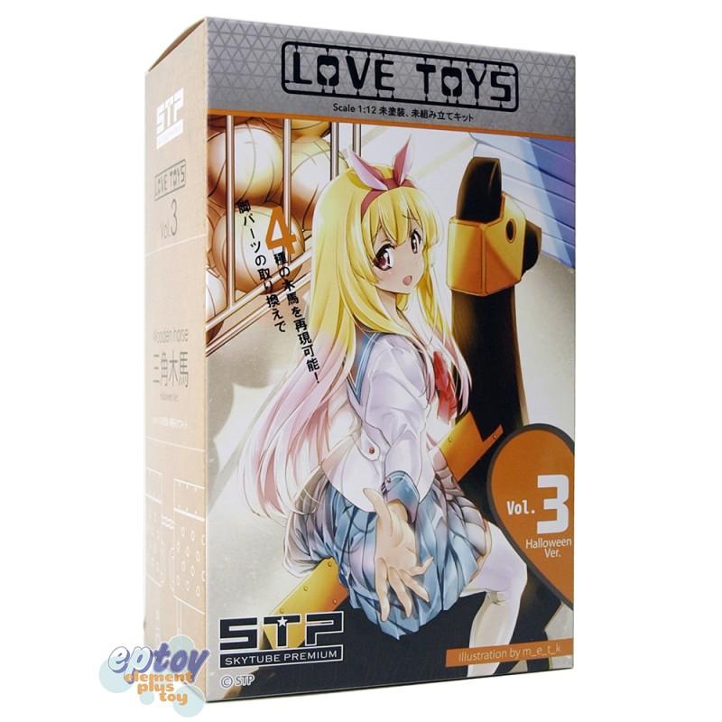 Alphamax STP Skytube Premium Love Toys Vol.3 Wooden Horse Halloween Ver. Model Kit