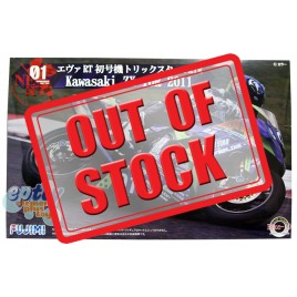 Fujimi Evangelion RT EVA01 Trick Star FRTR Kawasaki ZX-10R 2011 Model Kit