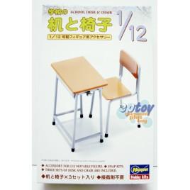 Hasegawa School Desk & Chair Accessory for FIGMA Models Kits