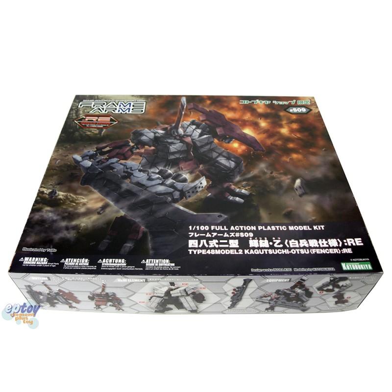 Kotobukiya Frame Arms #S09 Type48 Model2 Kagutsuchi-Otsu Fencer :RE Model Kit