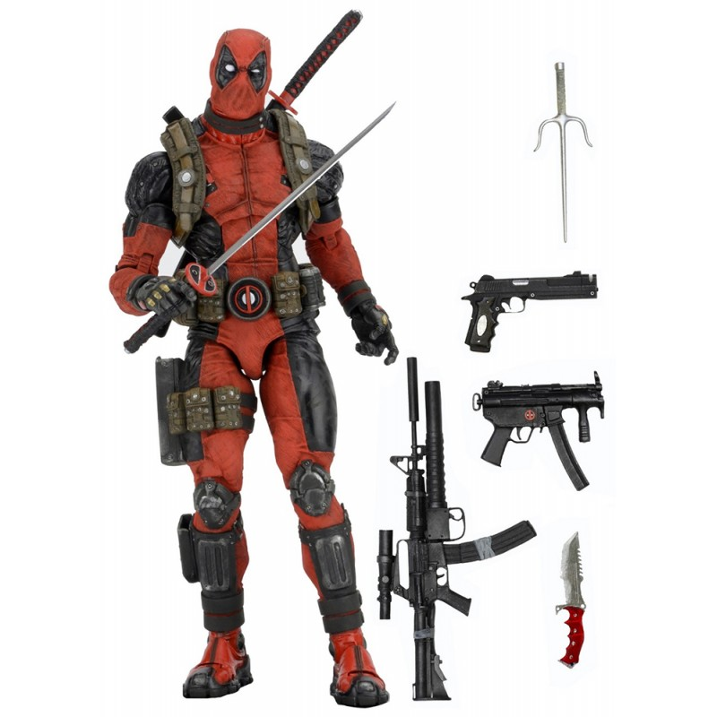 NECA Marvel Deadpool 1/4 Scale Action Figure