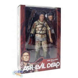 NECA Ash vs Evil Dead​ 7-inch Ash Williams Asylum