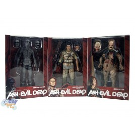 NECA Ash vs Evil Dead​ 7-inch Ash Williams Demon Spawn Henrietta Figures Set