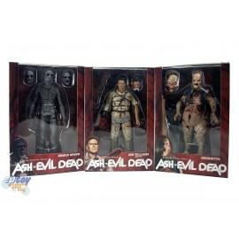 NECA Ash vs Evil Dead 7-inch Ash Williams Demon Spawn Henrietta Figures Set