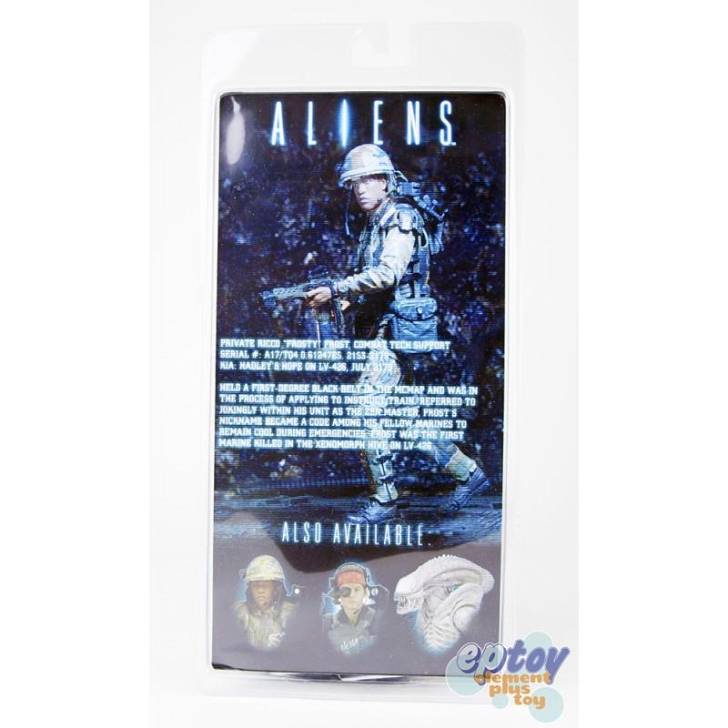 NECA Aliens Series 9 Xenomorph Albino Drone Jenette Vasquez Ricco Frost Set