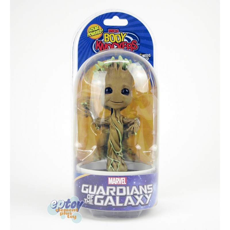 NECA  Body Knocker Marvel Guardians of the Galaxy Dancing Potted Groot
