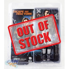 NECA Escape from New York Snake Plissken Clothed Figure