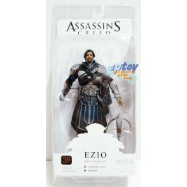 NECA Assassin's Creed Brotherhood 7-inch Ezio Onyx Assassin