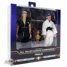 NECA The Karate Kid 8-inch Johnny Lawrence VS Daniel Larusso Tournament 2 Pack