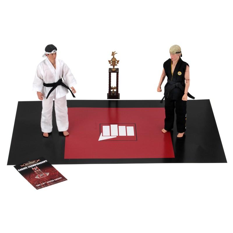 NECA The Karate Kid 8-inch Johnny Lawrence VS Daniel Larusso Tournament 2 Pack