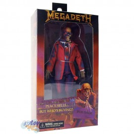 NECA Vic Rattlehead 8-inch Megadeth Peace Sells But Who's Buying
