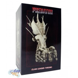 NECA Predator Clan Leader Bone Throne Diorama Element