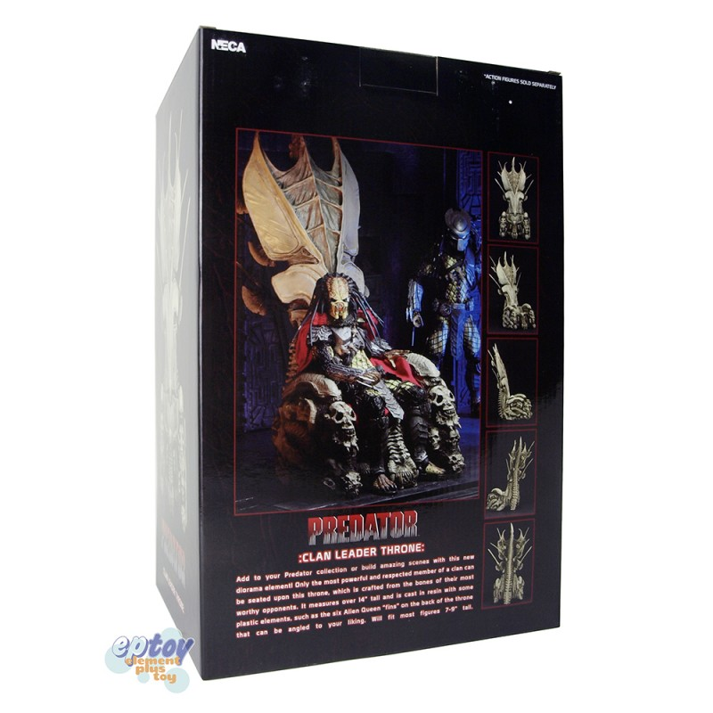 NECA Predator Clan Leader Bone Throne Diorama Element